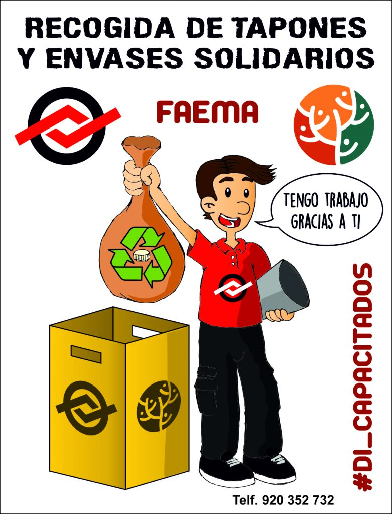 RECOGIDA DE TAPONES